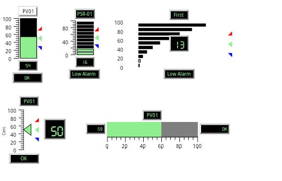 Android Real-Time Graphics bargraphs, gauges, indicators